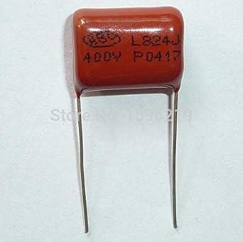 CBB21 Metallized Polypropylene Film Capacitors 400V 10NF 10pcs