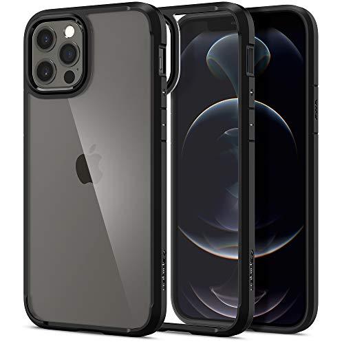 Spigen Ultra Hybrid designed for iPhone 12 case and iPhone 12 PRO case/cover (6.1 inch) - Matte Black