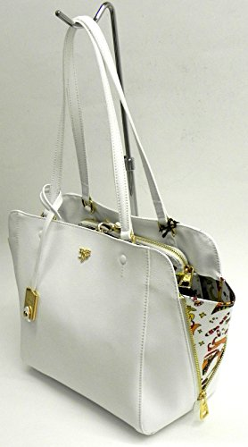 Piero Guidi Tote shopping Bag white