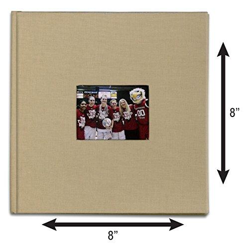 Bellagio-Italia Canvas Photo Album - Memory Scrap Book and Polariod Book - Large