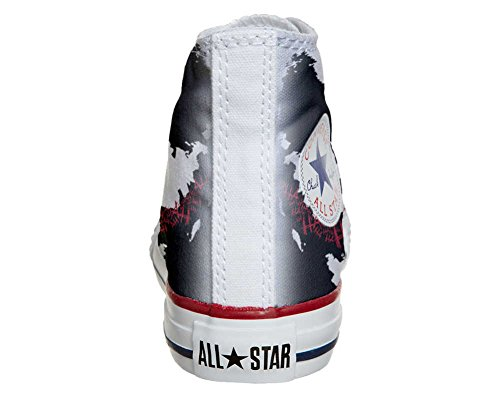 Converse All Star Hi Customized personalisierte Schuhe (Handwerk Schuhe) Face art