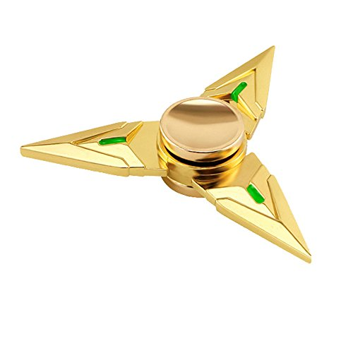 Price comparison product image ChainSee New Fashion Funny Tri Fidget Hand Spinner Triangle Metal Finger Focus Toy ADHD Autism Kids / Adult New