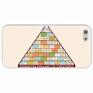 Apple iPhone 4s 4s Cases Customized Gifts Parks Recreation White Hard PC Case