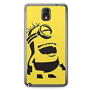 Minion Samsung Galaxy Note 3 Transparent Edge Case - B