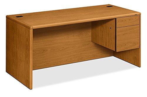 HON 10700 Series Desk Bridge, Cognac