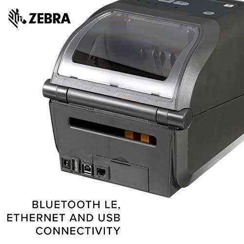 Zebra - ZD420d Direct Thermal Desktop Printer for Labels and Barcodes - Print Width 4 in - 203 dpi - Interface: USB, Ethernet - ZD42042-D01E00EZ by Zebra Technologies (Image #5)