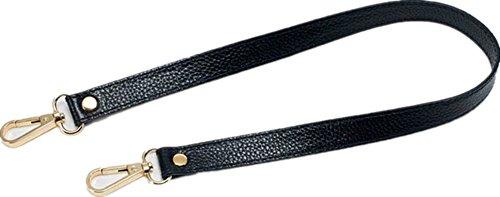 [해외]24mm 교체 정품 가죽 지갑 스트랩 조절 크로스 바디 숄더 핸드백 실버톤 버클/24mm Replacement Genuine Leather Purse Strap Adjustable Crossbody Shoulder H