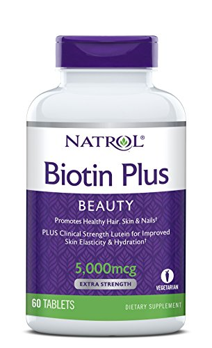 Natrol Biotin Lutein Tablets 000mcg