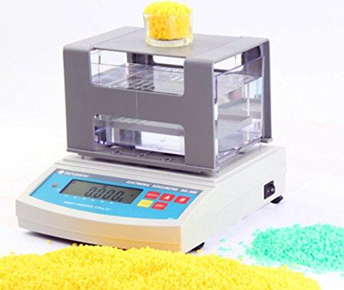 Digital Plastic rubber Solid Density Gravity meter guage Balance densitometer Densimeter Gravimeter 300g 110V/220V other size (Density Meter)