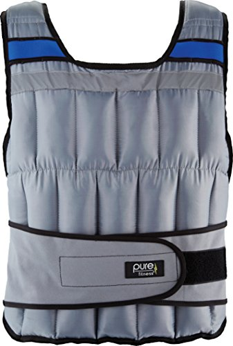 (Pure Fitness 40lb Adjustable Weighted Vest)
