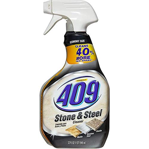 Formula 409 Stone and Steel Cleaner, Spray Bottle, 32 Ounces (3) ()