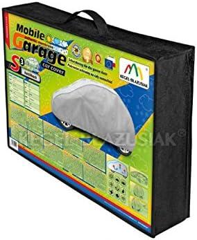 Kegel Mobile Garage Ganzgarage Vollgarage Autoabdeckplane Plane Autoplane Verschiedene Größen 335 355 Zentimeter S3 Schrägheck Auto