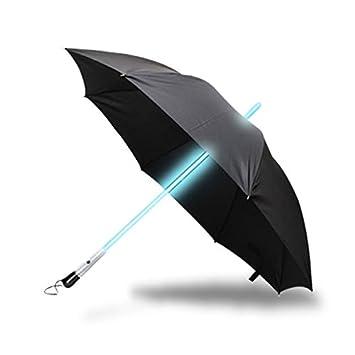 Paraguas llevado Star Wars sable de luz