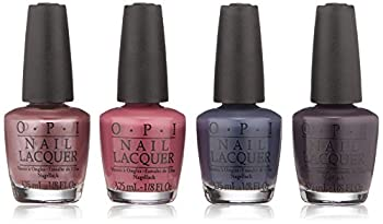 OPI Iceland Collection Mini 4-Pack (4 - Mini Nail Lacquers 3.75 mL - .125 Fl. Oz.)