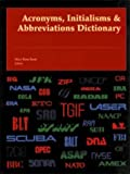 Acronyms Initialisms and Abbreviations Dictionary, Bonk, Mary Rose, 0787641022