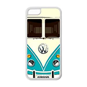 Vw Minibus Durable and lightweight hard Cover Case iPhone 5/5s Case