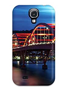 For CaseyKBrown Galaxy Protective Case, High Quality For Galaxy S4 Guandu Bridge Taiwan Skin Case Cover