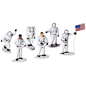 """US Toy Plastic Astronaut Toy Figurines (1 Dozen), 2-1/2"""""""