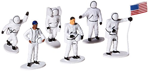 (US Toy Plastic Astronaut Toy Figurines (1 Dozen), 2-1/2
