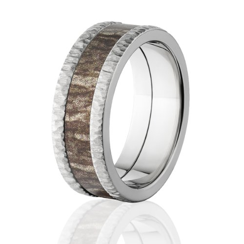 Bottomland Bands, Camo Rings, Mossy Oak Camouflage Wedding Rings
