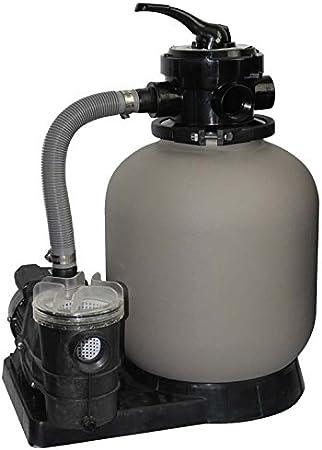 Filtro para piscina 350mm con valvula selectora y Bomba