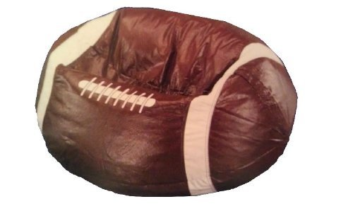 - Football Shaped Bean Bag Chair