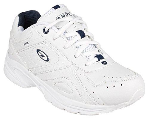 Hi-Tec Xt115 Jnr - Calzado de deporte de material sintético niño Blanco