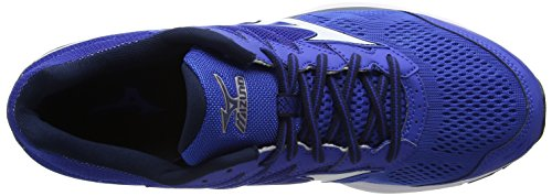 Homme de Entrainement Rider Chaussures Dress Bleu 20 Running Blue White Blues Wave Mizuno Nautical 5xqIFY0t