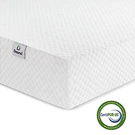 Dourxi Crib Mattress and Toddler Bed Mattress, Dual Sided Sleep System, Firm Side for Infants and Plush Soft Side for Toddlers, Breathable Foam Baby Mattress with Organic Cotton Cover