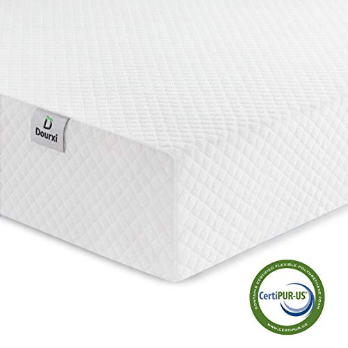 (Dourxi Crib Mattress and Toddler Bed Mattress, Dual Sided Sleep System, Firm Side for Infants and Plush Soft Side for Toddlers, Breathable Foam Baby Mattress with Removable)