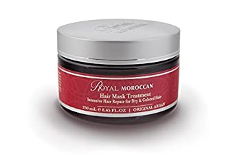 Royal Moroccan Formula – Hair Mask Treatment 250 ml – Base of Moroccan Argan oil, For color Treated Hair
