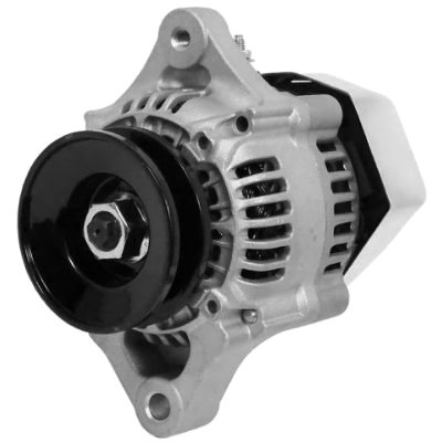 LActrical HIGH OUTPUT AMP MINI DENSO STYLE ALTERNATOR FOR CHEVY STREET ROD RACE CAR 1 ONE WIRE HOOKUP SYSTEM 70AMP