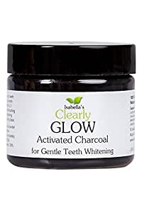 isabella 39 s clearly glow best natural teeth whitening activated charcoal powder. Black Bedroom Furniture Sets. Home Design Ideas