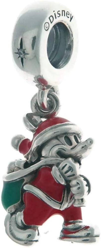 Pandora Disney Santa Mickey & Gift Bag Dangle Charm 797501ENMX