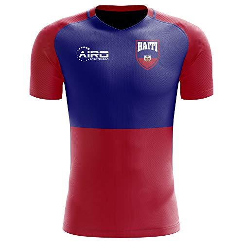 Airosportswear 2018-2019 Haiti Home Concept Football Soccer T-Shirt Jersey - Womens Blue Authentic Football Jersey