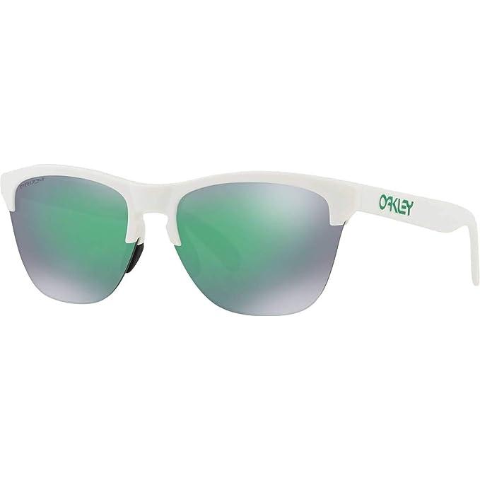 Oakley 0OO9374 Gafas de sol, Matte White, 63 para Hombre ...