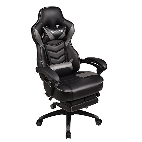 Video Gaming Chair Racing Office Pu Leather High Back