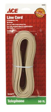 Round Phone Line Cord - Ace Phone Line Cord (32422)