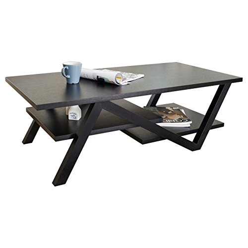 ioHOMES Finley Rectangular Coffee Table, Black by HOMES: Inside + Out