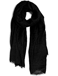 LABANCA Kids Winter Warm Fashion Scarf Linen Neck Scarf Black