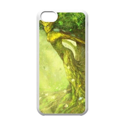 Steam Card coque iPhone 5c cellulaire cas coque de téléphone cas blanche couverture de téléphone portable EEECBCAAN01358