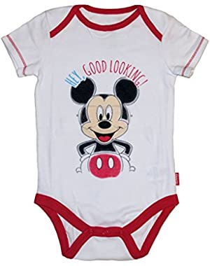 Disney Mickey & Minnie Mouse Baby Boys & Girls Bodysuit Dress Up Outfit