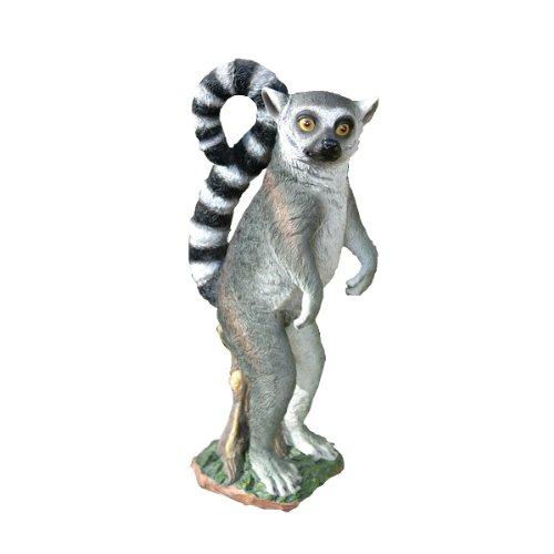 Design Toscano Rulon the Ring-Tailed Lemur Garden Statue For Sale