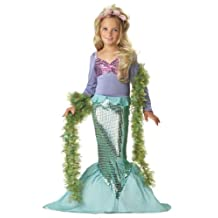 Little Mermaid Child Costume, Size Medium Plus