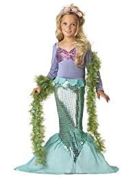 Little Mermaid Child Costume, Size Small