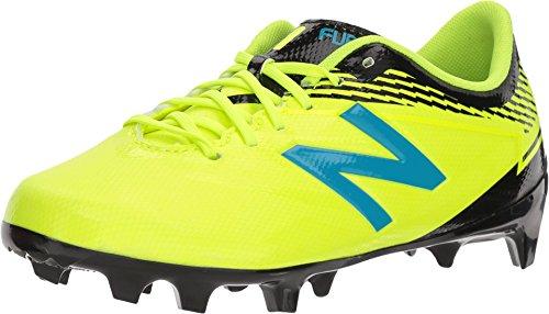 Metal Soccer Cleats - New Balance Boys' Furon3.0 Dispatch Jnr FG Soccer Shoe, Hi Lite/Maldives, 55 W US Big Kid