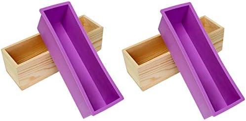 Ogrmar Flexible Rectangular Silicone Purple 2PCS product image