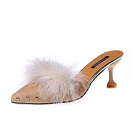 Half Punta High fine e eleganti indossare moda con presidente Drag Heeled un versatili OfPaqOx