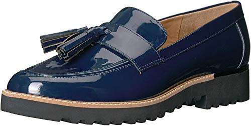 Franco Sarto Women's Carolynn Loafer Flat, Inky Navy, 8 M US (Loafers Navy Women)