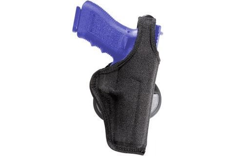 Bianchi Accumold 7500 Black Paddle Holster - Size 10 S&W 6906 3.5 (Left Hand)